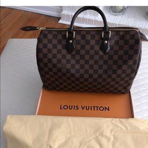 Louis volition checker board  bag